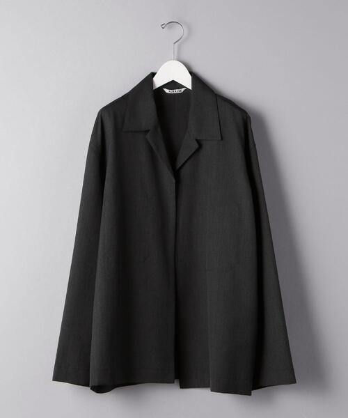 <AURALEE(オーラリー)> トロピカル シャツ ジャケット■■■