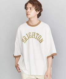<VOTE MAKE NEW CLOTHES(ヴォート メイク ニュー クローズ)> RINGER BIG TEE/Tシャツ