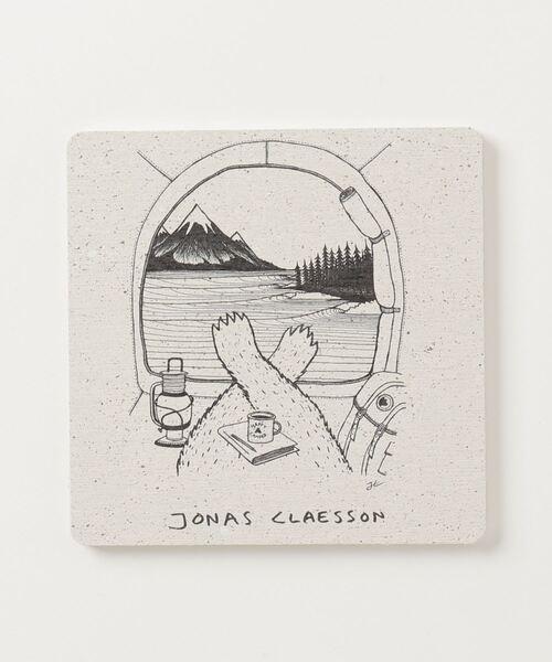 【 JONAS CLAESSON / ジョナス・クレアッソン 】珪藻土コースター NBI