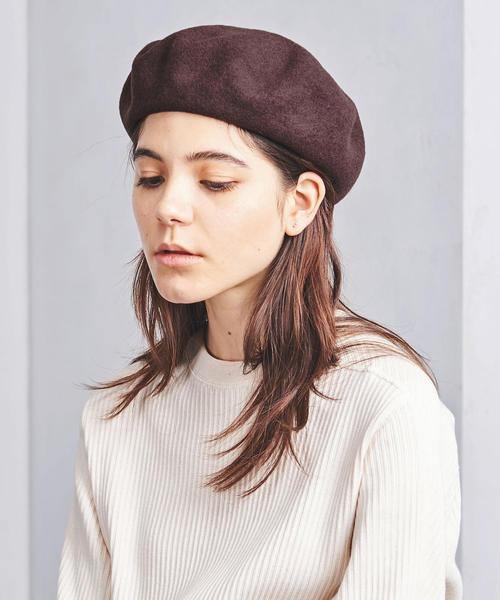 UWSC フェルト ベレー帽