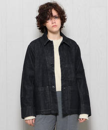 <MHL.>DENIM SNAP SHIRT/シャツ