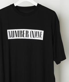 ナンバーナイン デニム NUMBER (N)INE DENIM / BOX LOGO オーバーサイズTシャツ [サイドテープ]