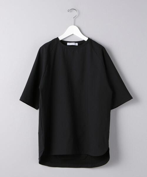 <UNITED ARROWS> ナイロンポリエステル ラグラン Tシャツ