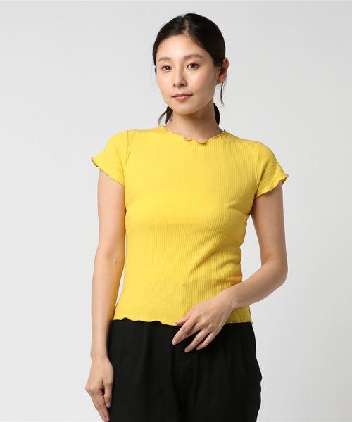 メロウポイントリブTシャツ