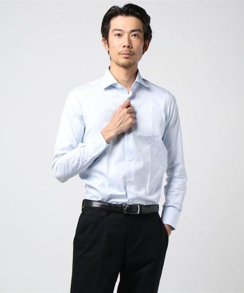 SL バスケットセミワイドシャツ