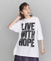 【別注】<idilliaco>Anthony Burrill グラフィックTシャツ
