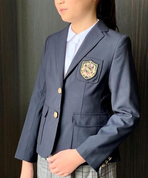 8c701e4b1b148 女の子用紺ブレ(110~130cm)(スーツジャケット)|COMME CA ISM ...