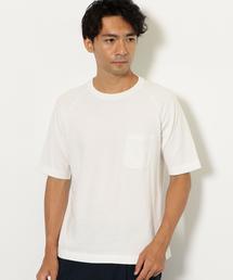 SC ブラッシュ クルーネック 半袖 Tシャツ ◆