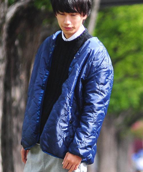 【送料込】 リップル加工 ボア ひょうたんキルト ボア リバーシブルジャケット(ノーカラージャケット)|SPADE(スペード)のファッション通販, beautycrew:2b74fbac --- skoda-tmn.ru