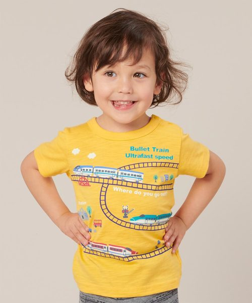 motherways(マザウェイズ)の「ボーイズ 半袖Tシャツ 全14柄(Tシャツ/カットソー)」|ペールイエロー