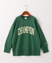 ◆【ジュニア】〔別注〕CHAMPION(チャンピオン)ロゴ スウェット