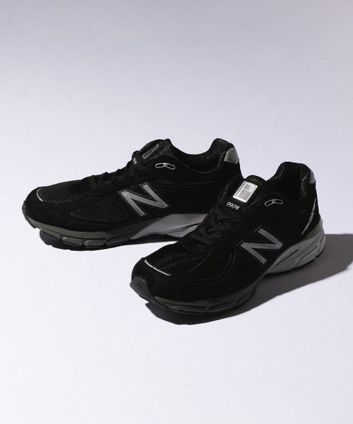 <New Balance (ニューバランス)> M990BK4 BLACK/スニーカー