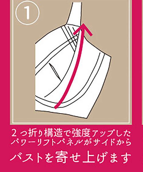 エレガントコレクション『プルメリア』単品ブラジャーBCDカップ