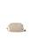 Samantha Thavasa(サマンサタバサ)の「【ドラマ着用】【雑誌掲載】ダブルジッパーショルダーバッグ【3年保証対象】(ショルダーバッグ)」 オフホワイト