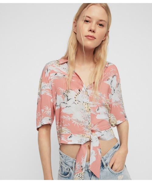新しい到着 【セール SHIRT】LENI BORNEO BORNEO SHIRT     アロハシャツ(シャツ/ブラウス) ALLSAINTS(オールセインツ)のファッション通販, オーエスゴルフ:c7916c20 --- pitomnik-zr.ru