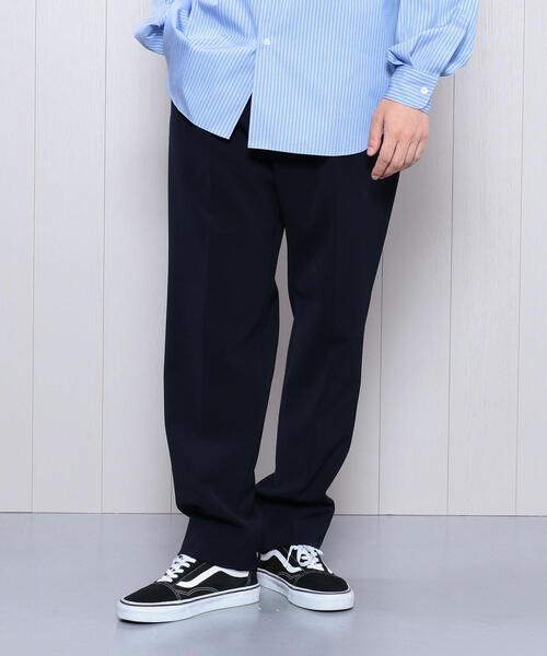 最安値に挑戦! <H>DOUBLE CLOTH TAPERED PANTS/パンツ, エコライフショップ 0c26be6f