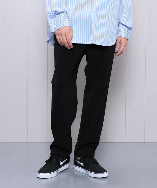 オリジナル <H>DOUBLE CLOTH TAPERED PANTS/パンツ, 綾南町 6b56c6fc