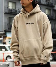 KANGOL(カンゴール)のWEB限定 KANGOL×FREAK'S STORE/カンゴール 別注ビッグシルエット プルオーバーパーカー/オーバーサイズカットソー(パーカー)