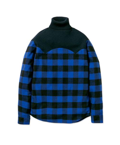 リアル SHIRT MIX NECK TURTLE NECK KNIT(ニット MIX/セーター) TURTLE|MISTERGENTLEMAN(ミスタージェントルマン)のファッション通販, ホスピマート:0ff59d94 --- blog.buypower.ng