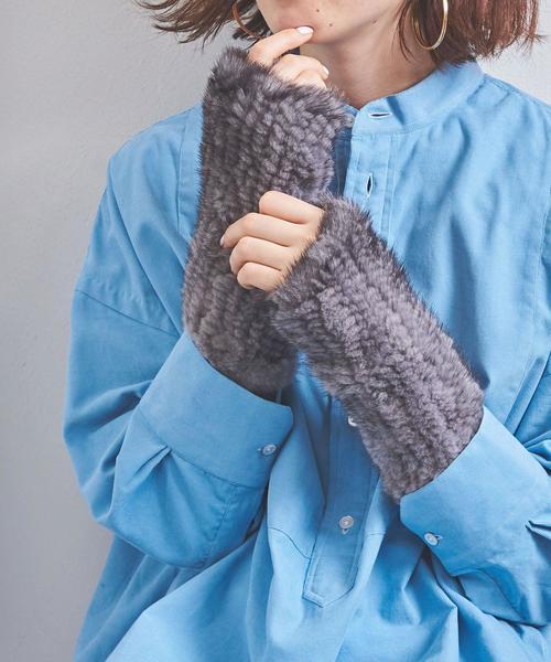 【当店一番人気】 UWCB UNITED MINK フィンガーレス グローブ(手袋) MINK|UNITED ARROWS ARROWS(ユナイテッドアローズ)のファッション通販, アイラブスマート:346f9661 --- 5613dcaibao.eu.org