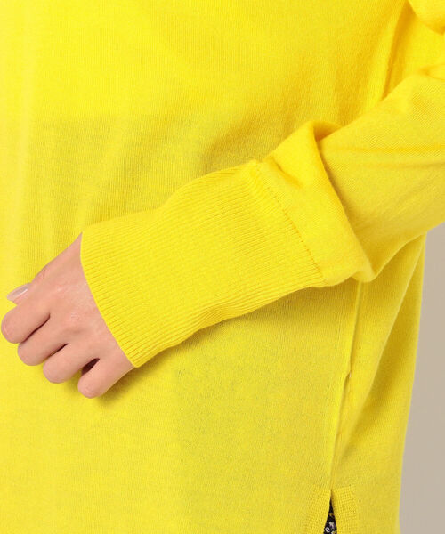 NOLLEY'S(ノーリーズ)の「ピリング防止ウールプルオーバーニット(ニット/セーター)」|詳細画像