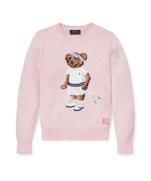 8cb5fe1a560bb Polo Ralph Lauren Childrenswear(ポロ キッズ)の「テニス ベア コットン セーター(ニット