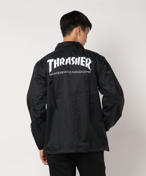 THRASHER(スラッシャー)の「THRASHER / MAG COACH JACKET(ナイロンジャケット)」|詳細画像