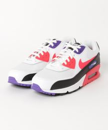 NIKE(ナイキ)のNIKE AIR MAX 90 ESSENTIAL (WHITE/RED ORBIT-PSYCHIC PURPLE-BLACK) 【SP】(スニーカー)