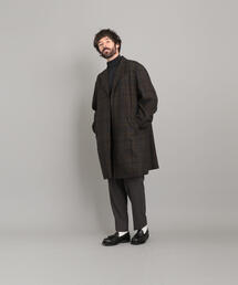 <Steven Alan> C/W CHECK CHESTER COAT/コート