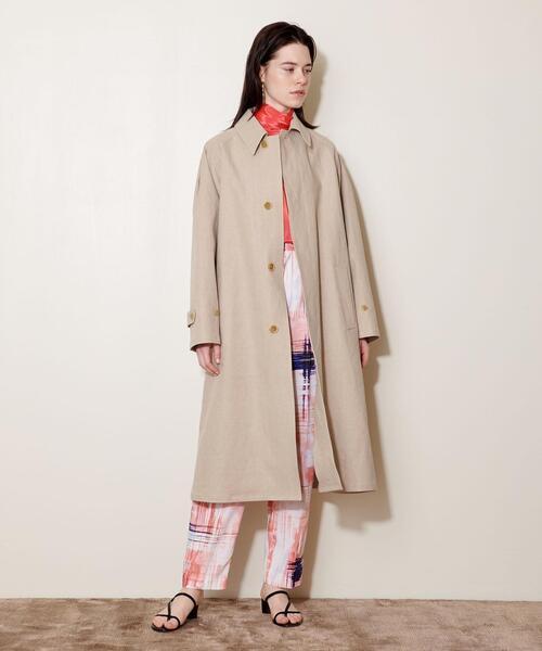 <AEWEN MATOPH(イウエン マトフ)> ステンカラー コート