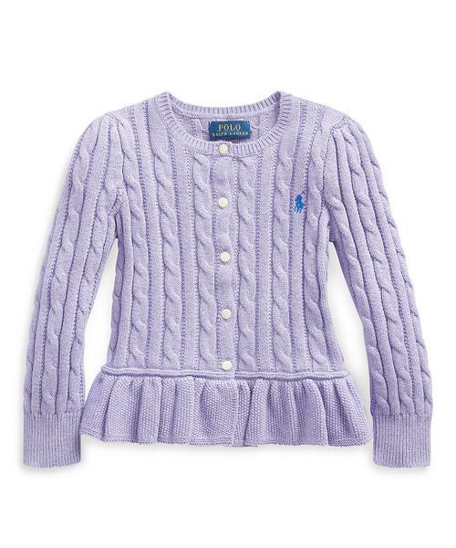 人気ブラドン ケーブル RALPH コットン ペプラム カーディガン(カーディガン)|Polo Ralph ペプラム Lauren コットン Childrenswear(ポロラルフローレンチャイルドウェア)のファッション通販, アクトライズふるさと物産館:3e32f378 --- 5613dcaibao.eu.org
