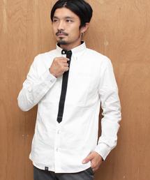 YELLOW RUBY(イエロールビー)のbasic minimal tied roll up shirt(シャツ/ブラウス)
