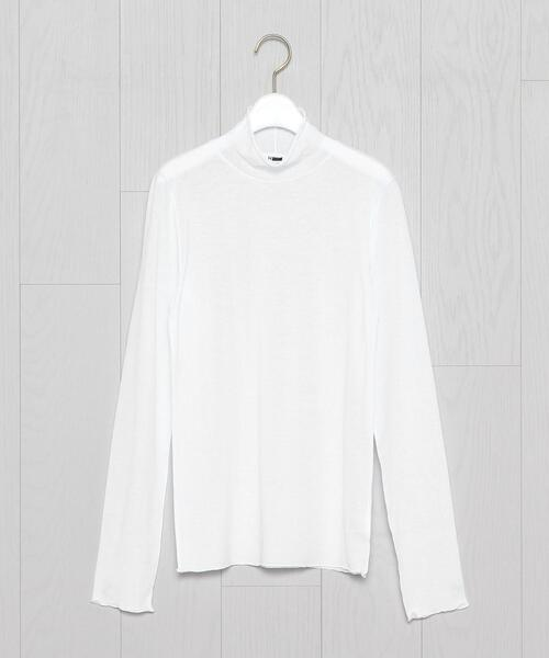 <H>GAUSE JERSEY HIGH NECK/カットソー.
