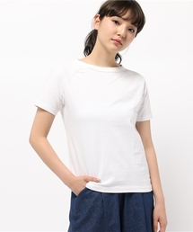 FANEUIL(ファヌル)のFANEUIL/ファヌル BOAT NECK SS TEE (6002)(Tシャツ/カットソー)