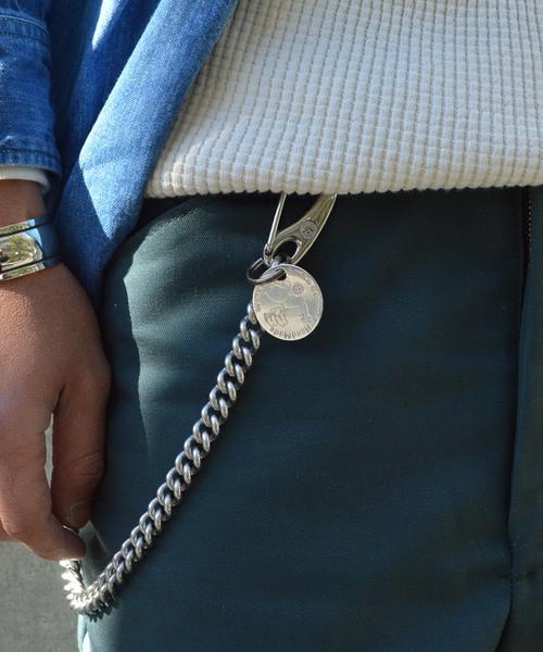 39/サンク Stainless Wallet Chain