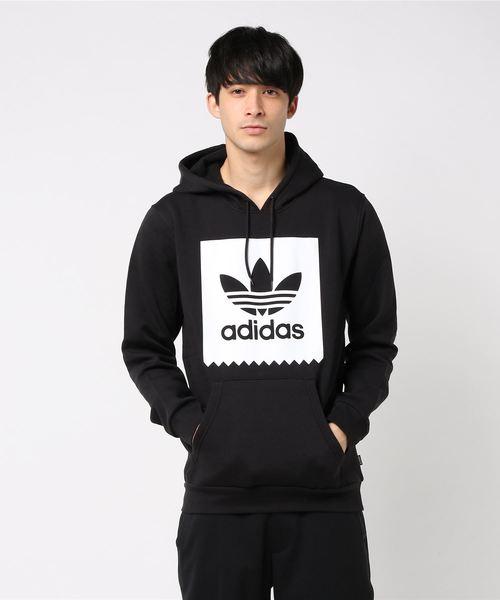 adidas アディダス M SOLID BB HOOD フードパーカー CW2358 BLK/WHT