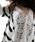 cawaii(カワイイ)の「レースをあしらった爽やかボーダース。薄手ニットプルオーバー(Tシャツ/カットソー)」|詳細画像