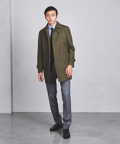 ○UADB ショート ステンカラー コート