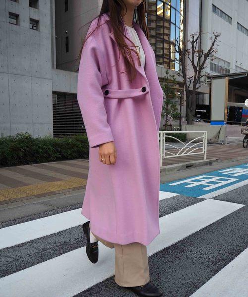 【Arumlily】 ウールコート