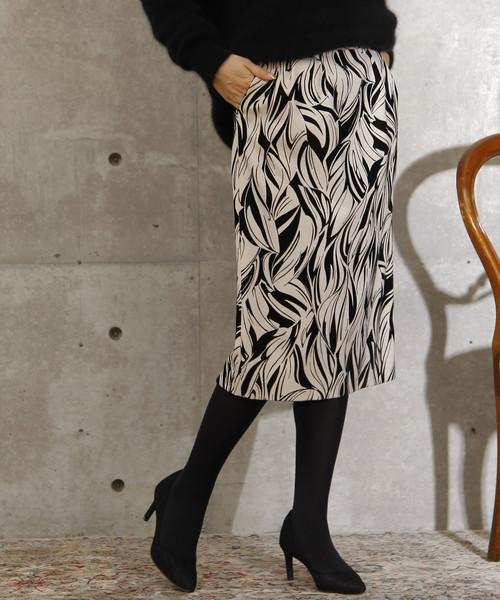 送料無料 フロッキープリントタイトスカート(スカート)|TIARA(ティアラ)のファッション通販, 日田市:3b4bfde9 --- skoda-tmn.ru