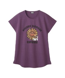 FLOWER POWER Tシャツパープル
