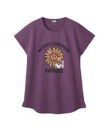 FLOWER POWER Tシャツパープル