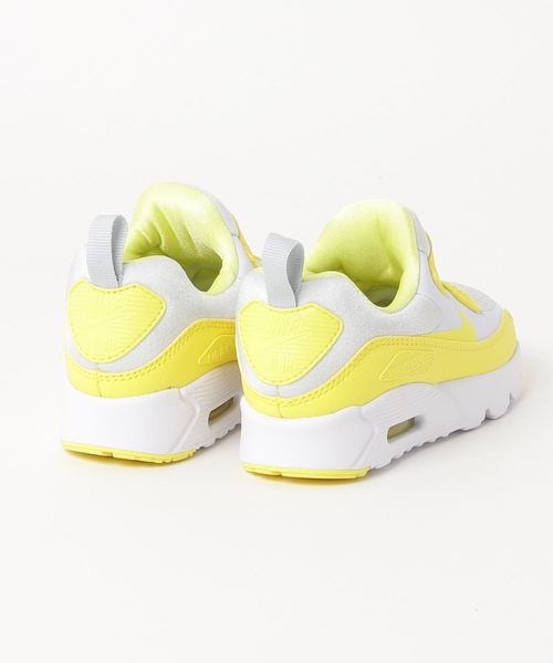 NIKE AIR MAX TINY 90 (PS) (FOOTBALL GREY/DYNAMIC YELLOW-WHITE) 【SP】