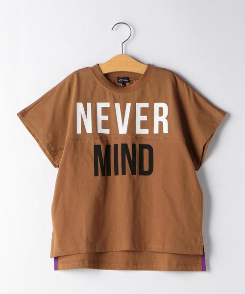 NEVER MIND切り替えBIG Tシャツ
