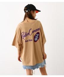 RODEO CROWNS WIDE BOWL(ロデオクラウンズワイドボウル)のKEY HOLDER TAGビッグTシャツ(Tシャツ/カットソー)