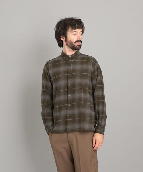 <Steven Alan> 21/ NEL CHECK SINGLE NEEDLE SHIRT-BOLD/シャツ