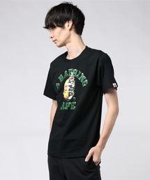 A BATHING APE(アベイシングエイプ)のCHRISTMAS COLLEGE TEE M(Tシャツ/カットソー)