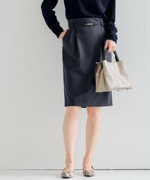 [ 手洗い可能 / カチリラ ] ◆D ベルトツキ スカート ◇No04◇<br>