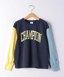 【ジュニア】〔別注〕CHAMPION(チャンピオン)ロングスリーブT
