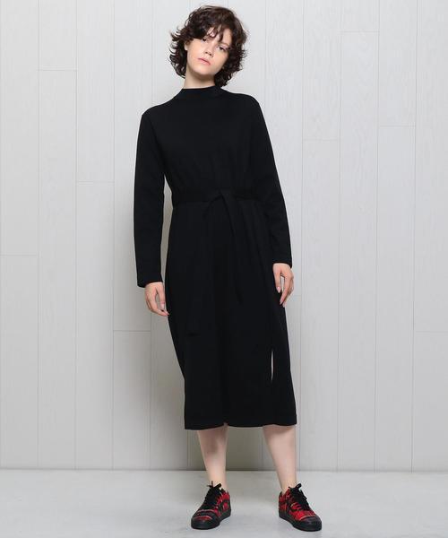 <boussole>KNIT DRESS/ワンピース
